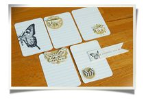 Handmade journaling cards