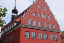 Greifswald / Fotos, Geschichten und Hintergrundinformationen zu Gebäuden in der #Hansestadt #Greifswald. Weitere Bilder und Hintergründe unter: http://hansestaedte.com/category/bilder/greifswald/