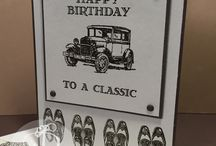 Masculine Cards / Masculine cards by Lisa Ann Bernard of Queen B Creations, Independent Stampin' Up! Demonstrator