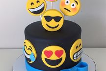 Emoticon Cakes I Like