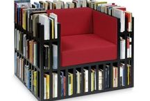 Design for book lovers / Creative bookshelves and furniture designed especially for book readers.