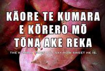Whakatauki : Proverbs