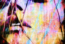 Peinture digital, Street art, autres techniques