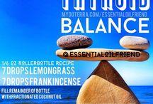 Essential Oils Roller  Blends