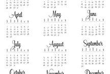 calendário de 2018
