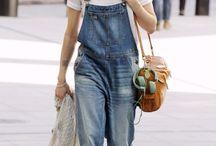 OVER it ALL / I love overalls! / by Pamela Libonati
