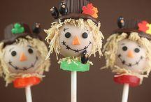 Thanksgiving / Fall cake pops