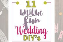 Wedding DIY's / All about weddings, specifically Wedding DIY's!