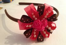 For little girlies :) / Hairbands and hairbows and little girl would feel pretty in