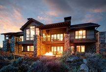 Promontory Rambler - Park City / After the massive success Lane Myers Construction had with the Park City Showcase of Homes in 2013, we were approached to construct a similar entry in the 2015 showcase. Once again partnering up with Osmond Designs and TK Boss, we designed a free flowing and masterfully thought out plan, and put it into action up on the slopes of Promontory in Park City. Complete with wine room and a casita on the main floor, this is the perfect escape from winter blues.