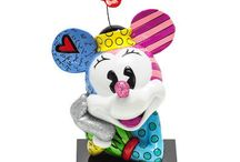 """Britto: """"Warmth and Optimism"""" / Romero Britto is a Brazilian-born and Miami-based artist with a flair for bright, bold patterns, described by the NY Times as """"exuding warmth and optimism"""". Carroll's carries a wide variety of home goods featuring Britto's fun-loving artwork!"""