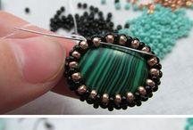 Keep calm & start beading / Seed bead jewelry