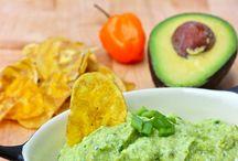 Ají y guacamole