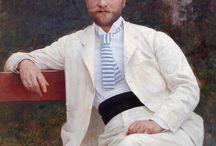 Men's portraits 1890s