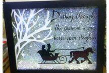Christmas-Box frames