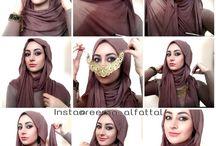 hijaab tutorils