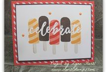 stamping - cool treats
