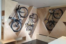 bycicle storage ideas