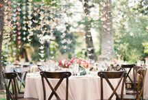 Whimsical weddings and parties