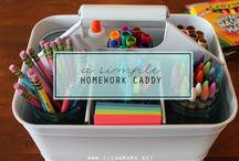 St John's Prep and Senior School - Homework / St John's Prep and Senior School, Enfield, homework tips board