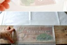 Printing images on wood