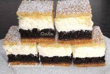Pudingos sütemények