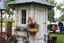 Садовый туалет