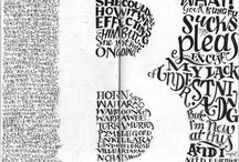Arty Lettering & Words & Quotes / Arty Lettering & Words & Quotes