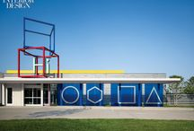 Chesapeak Energy Project / A look at Rand Elliott's playful latest project at the Chesapeake Energy Corporation campus in Oklahoma City. Photography by Scott Mcdonald / Hedrich, recently won Interior Design's Project of the Year in the Education category!   / by ducduc