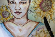 Pownall Artworks / Creative watercolor ink artworks by a British Filipino Artist located in the Philippines.