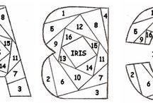 Iris folding / by Joanne Halm
