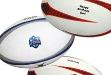 Printed Rugby Balls / Buy Printed Rugby Balls from Best4SportsBalls - Printed with your Photo, Text or Logo and No Minimum!