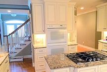 Kenny & Lisa's Kitchen / A beautiful example of a clean, white kitchen.