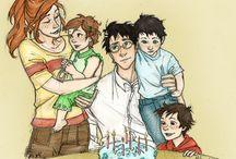 famille potter granger-weasley / Les familles des trois héros en recomposées. La fin de l'histoire. It's all end. Mais finalement peut être pas. Un enfant du grand héros est perturbé. Suite à the cursed child.