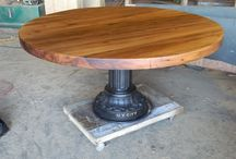 Round Tables / by Antique Woodworks