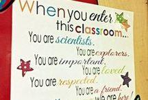 sign for class door