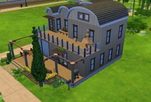 My Sims 4 Builds / All houses are shared to the gallery under the hashtag: #simsessensebuild2016