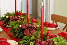 CHRISTMAS TABLE DECORATING / by Michelle Lemoine