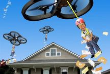 Flying Funnies- Drone Humor / Funny drone photos and images taken with UAV's! Laughter and having fun is a key component at Soaring Sky and we want to share our humor with you.