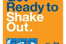 ShakeOut Banners and Posters / After you register for ShakeOut place these banners and posters on your website or around your office to let everyone know you are participating!
