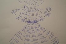 Crochet Angels Andělé