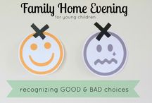 Family Home Evening / ideas for FHE
