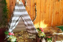 Bohemian Themed Party / #events #eventstyling #corporateparty #christmasparty