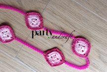 Crochet bijuoux @ Partyandcraft / Our creations