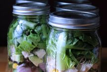 Recipes ~ Mason Jar Salads