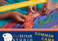 FunStitch Studio Camp! / by C&T Publishing