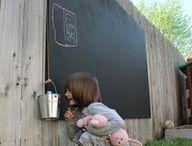 Chalkboard - outside