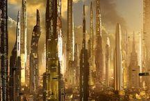 Utopía / Veremos imágenes de el conceptos de Utopía plasmado en diferentes formas.