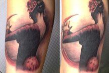 Tatuajes Φ JAVIER JAS Φ / Tatuajes realizados por el artista Javier Jas. Logia Barcelona.