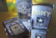 2014 United States Military Zippo Lighters